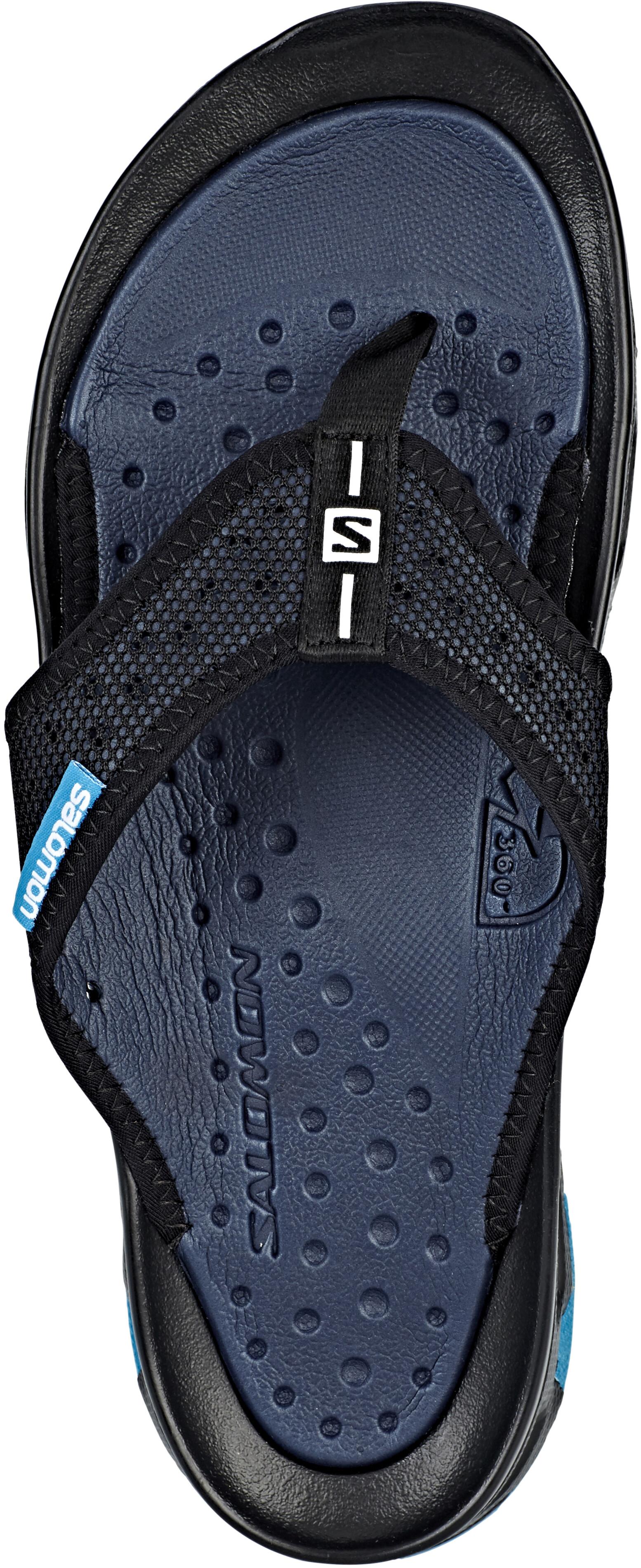 682ec9639f5a88 Salomon RX Break Slippers Men black at Addnature.co.uk
